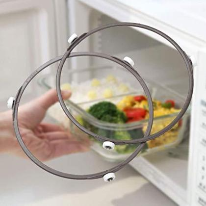 Transparent Microwave Oven Glass Ring