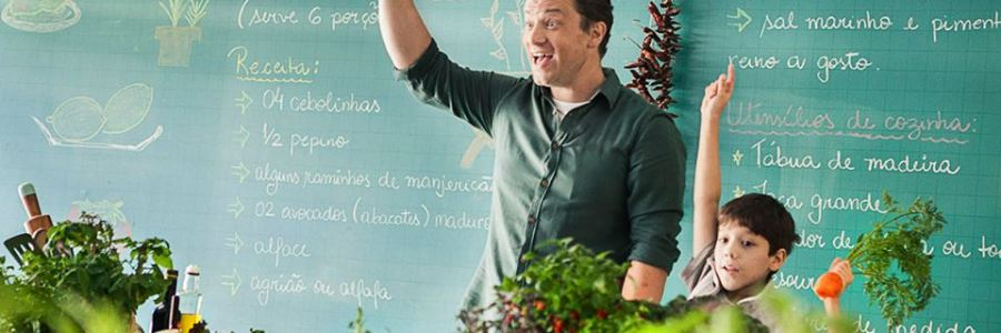 Chef Jamie Oliver: um exemplo de content marketing