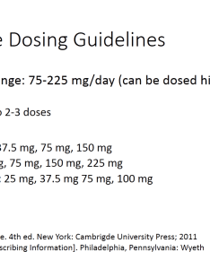 venlafaxine dosing also and desvenlafaxine differences similarities rh psychopharmacologyinstitute