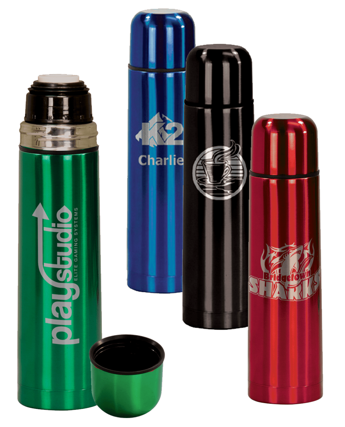 personalized stainless steel thermos