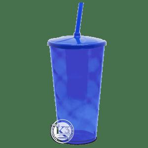Copo Twister c/ Tampa Azul