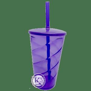 Copo Twister c/ Tampa Roxo