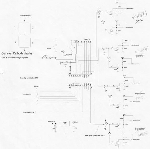 Step Attenuator Controller
