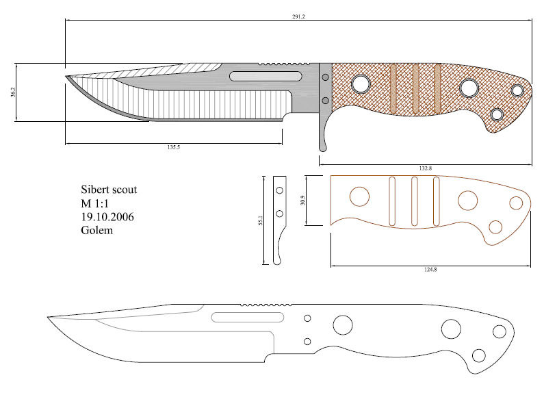 Knife Making Blade Patterns