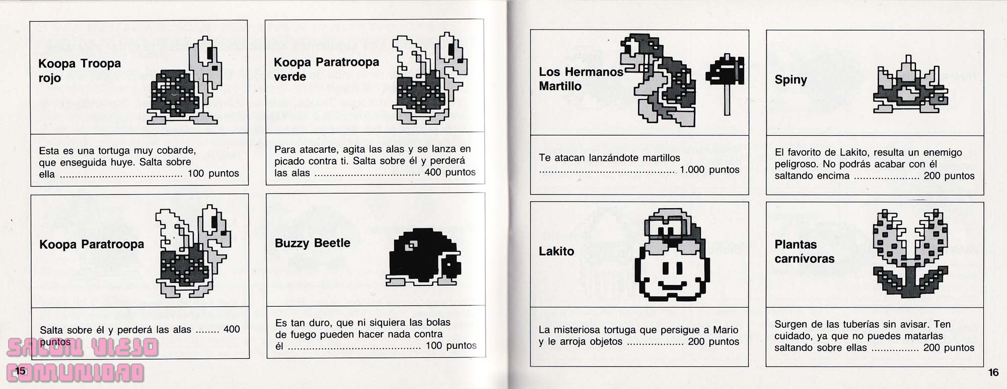 Manual Super Mario Bros, World Cup , Tetris (nes