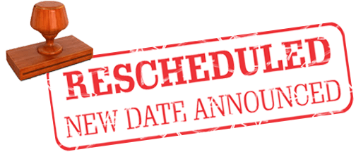 pta meeting rescheduled bhs