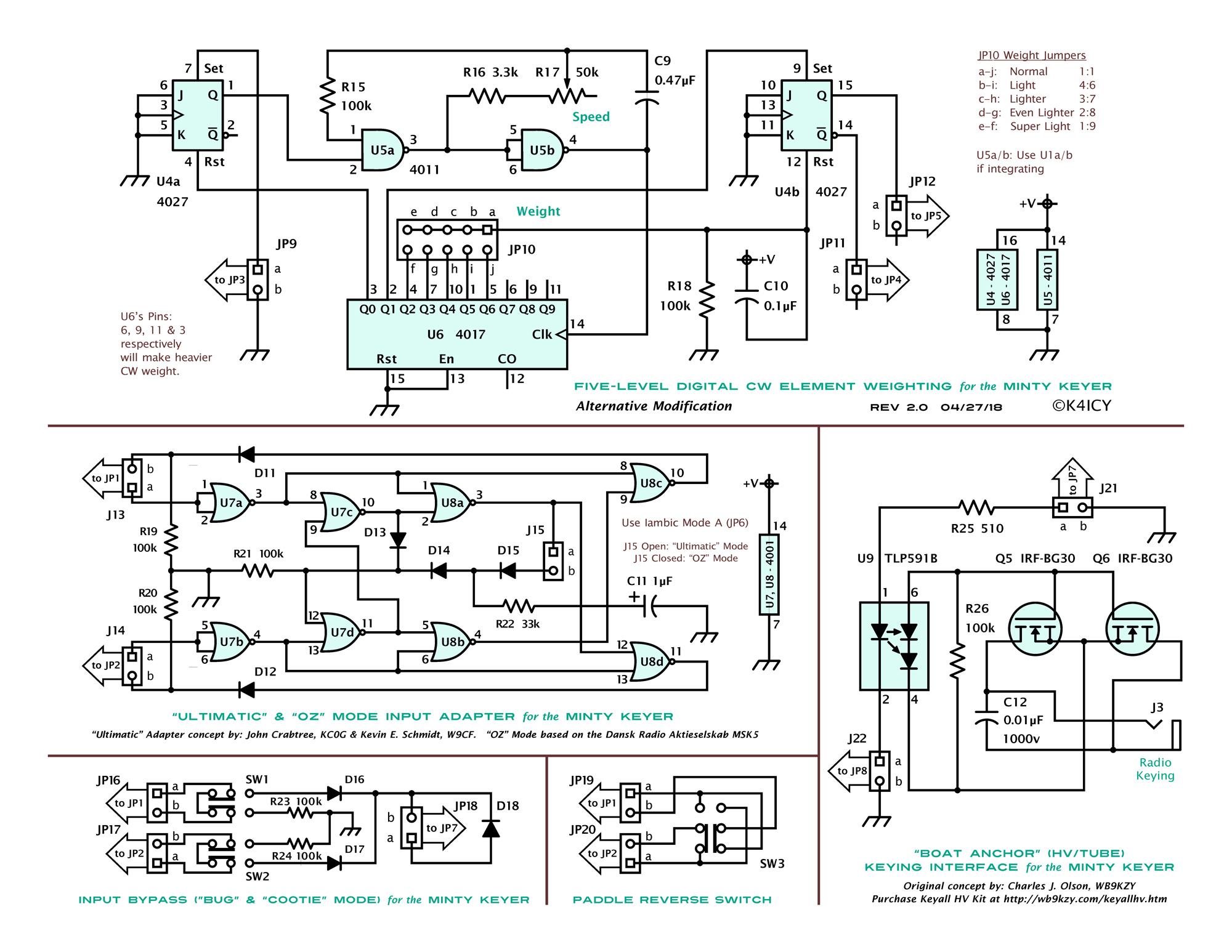 hight resolution of iambic keyer schematic