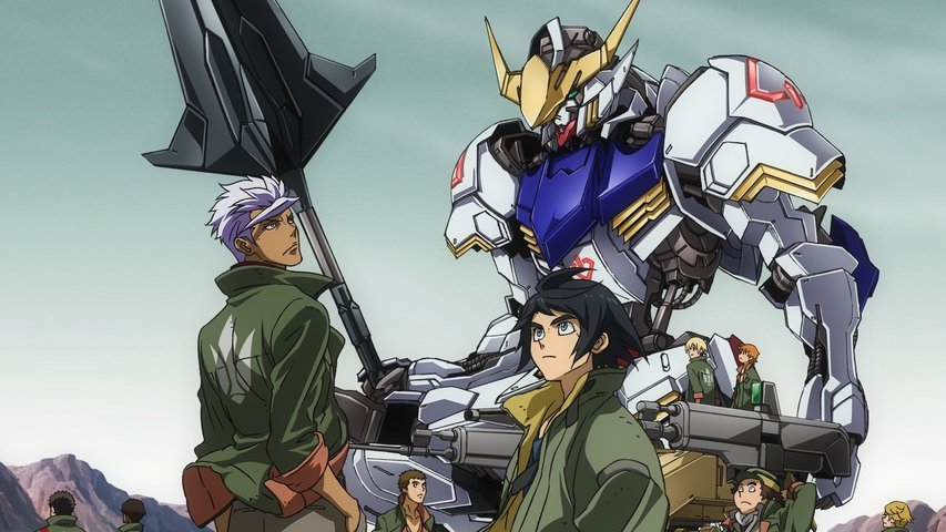 Mobile Suit Gundam: Iron-Blooded Orphans 2nd Season - NekoAnimeDD