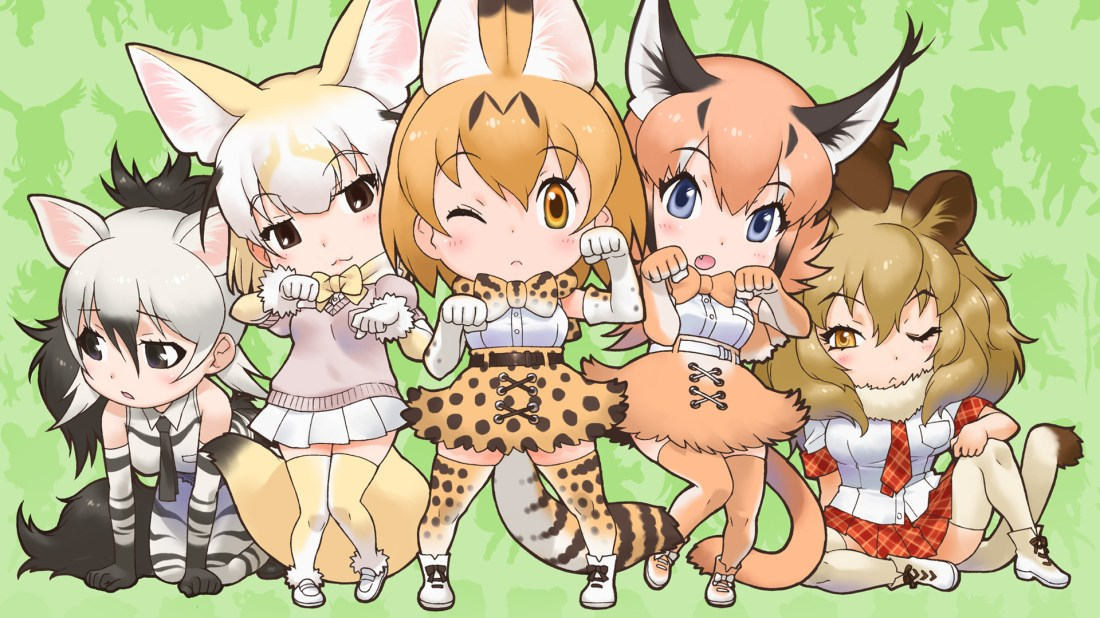 Kemono Friends - NekoAnimeDD