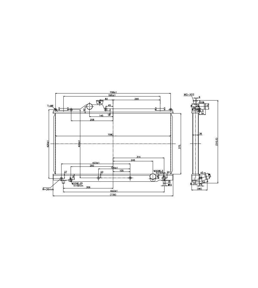 Sports Water Radiator Lexus IS300 01-05 Manual