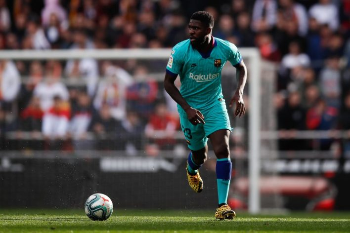Samuel Umtiti has struggled with injuries since joining Barcelona