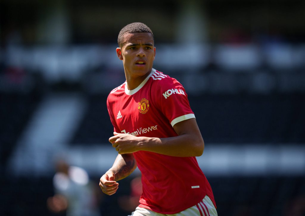 Mason Greenwood finally found the net for United.