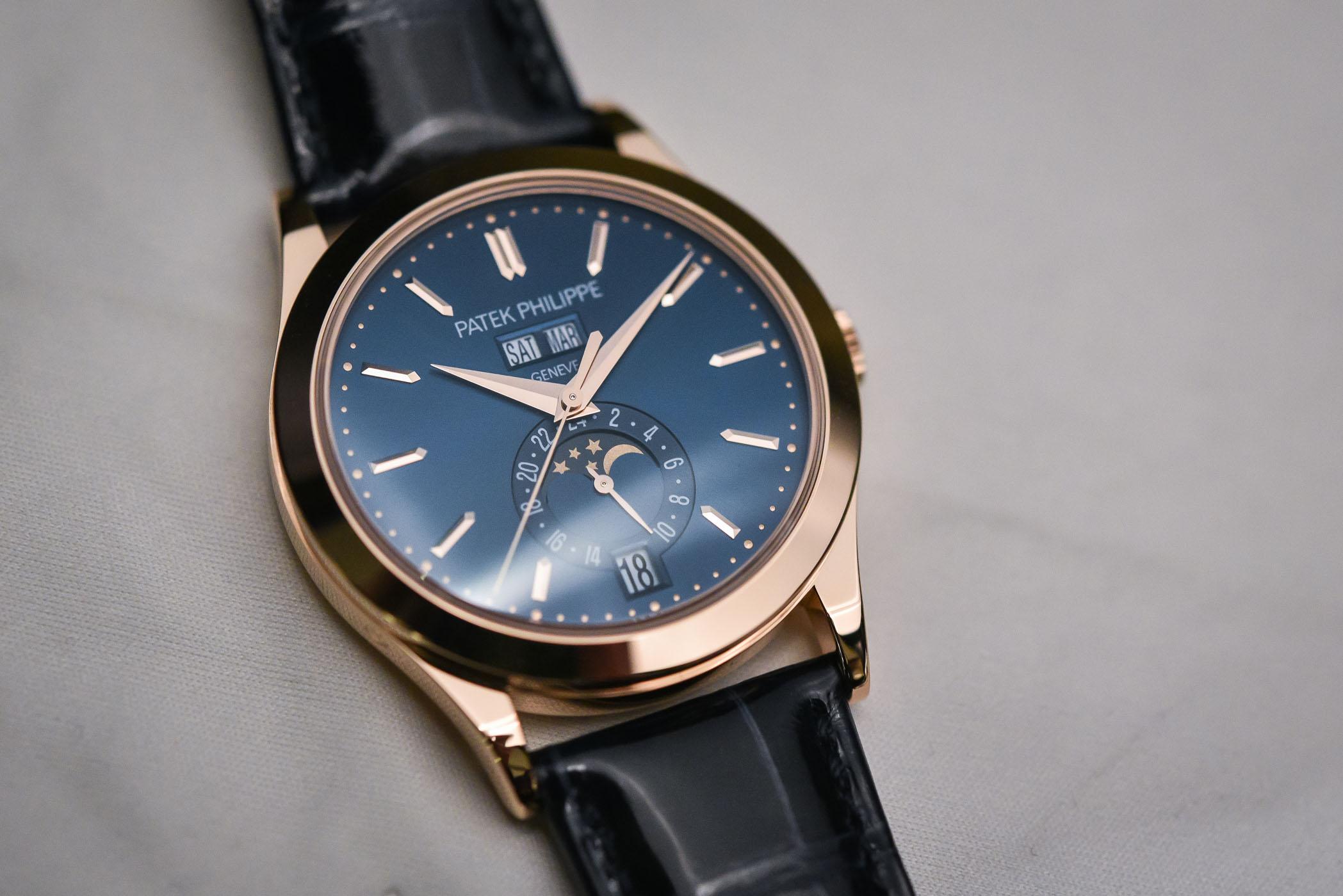 Hands-On - Patek Philippe 5396R Annual Calendar Blue Dial (Specs & Price)