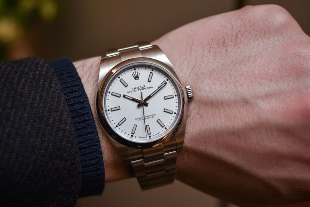 Rolex Oyster Perpetual 39 ref 114300 White Dial - Baselworld 2018