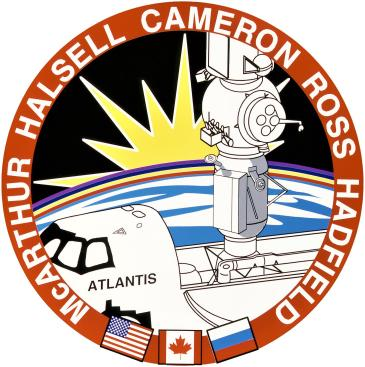 STS-74 Crew Patch