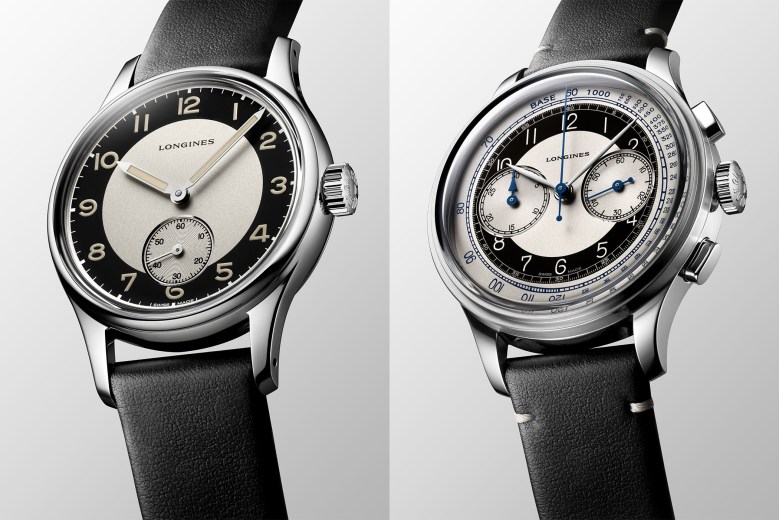 Longines Heritage Classic Tuxedo Collection Re-ssue in 2020