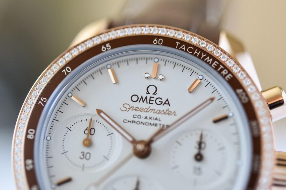 Omega Speedmaster 38 Cappuccino