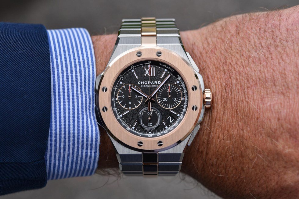 Chopard Alpine Eagle XL Chrono Lucent Steel and rose gold