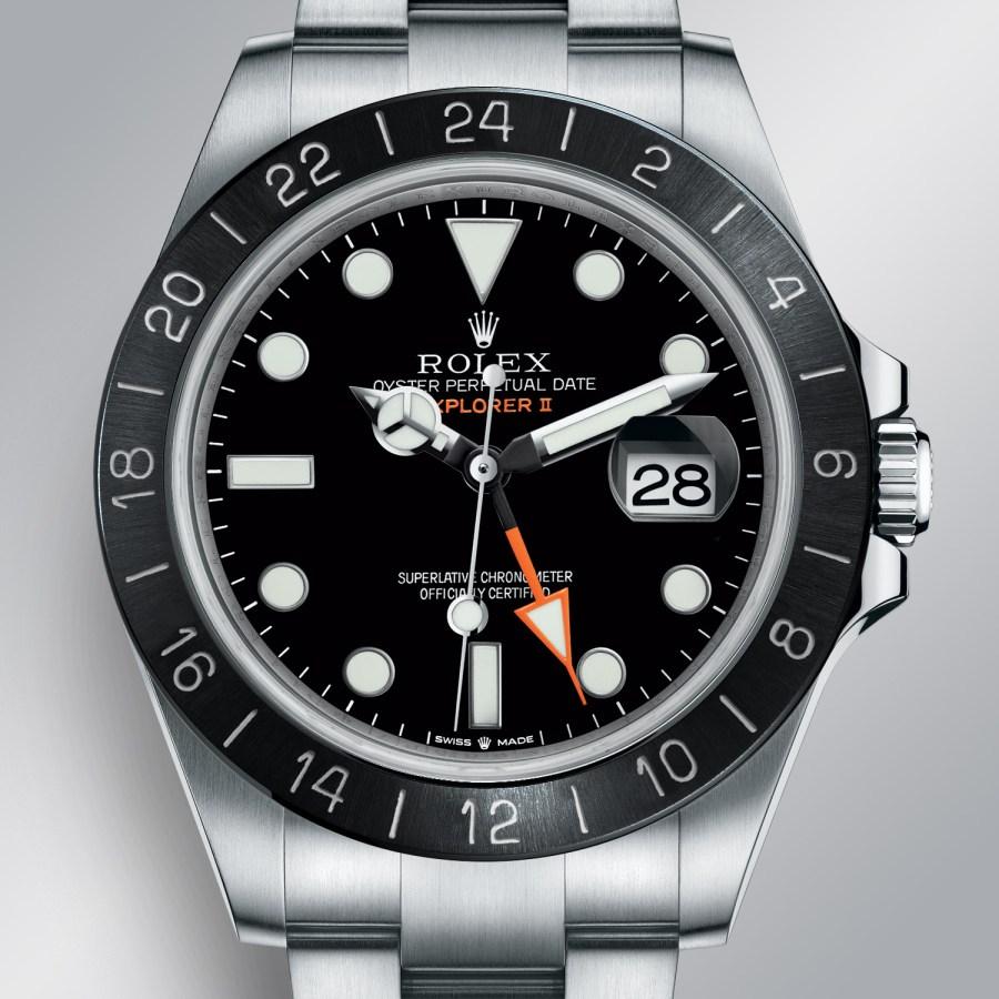 Rolex Predictions 2021 - Rolex New models 2021 - Rolex Explorer II black ceramic bezel 2021