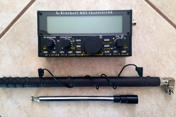 Multiband counterpoise for KX2 and first look at MFJ-1899T