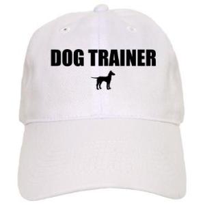 dog trainer baseball cap