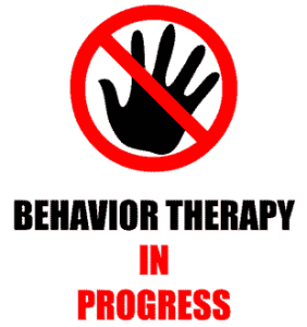 Behavior Therapy in Progress Design for L and XL sizing