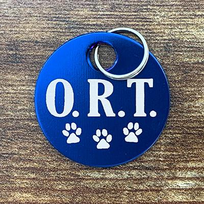 ORT - BLUE Brag Tag