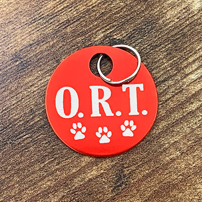 ORT - RED Brag Tag