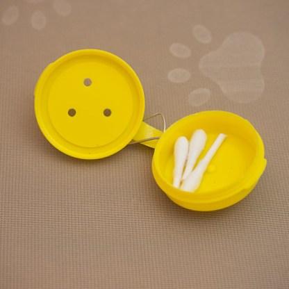 Hang Hide Yellow low profile plastic disk