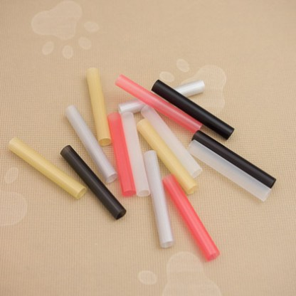 Black, Clear, Red, Silver and Gold: Fat Straws