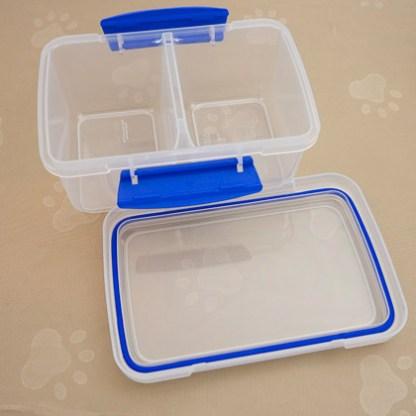 Standard Split Double Snap Tight Box.