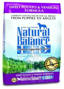 venison dog food for allergies
