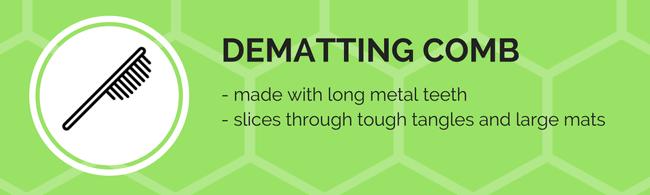 dematting comb tool