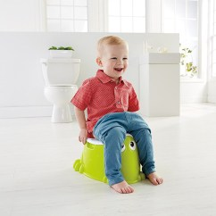 Frog Potty Chair American Salon Training Baby Portable Toilet Seat Toddler
