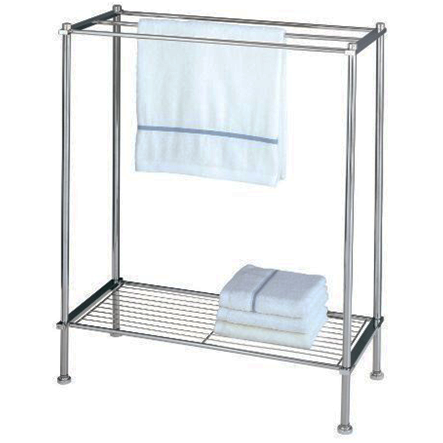 Bathroom Towel Stand Details About Free Standing Bathroom Towel Rack Metal Towel 3 Bar Stand Drying Shelf Chrome