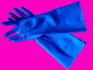 gloves -   How to clean an electric chimney