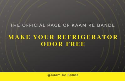 Make Your Refrigerator Odor Free