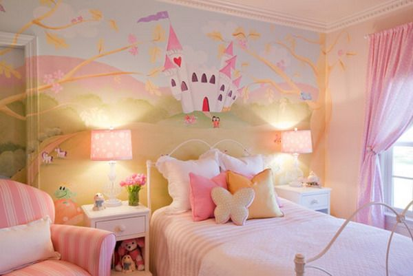 princess theme 2 - Girl`s Bedroom Ideas-How To Design & Decorate