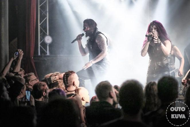 Fear Of Domination Tampereen Klubilla 2018 kuva: Outo Kuva