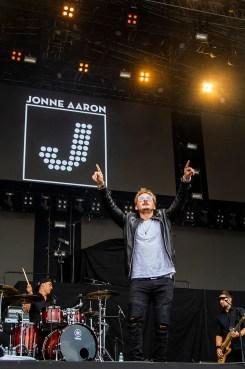 Jonne Aaron Ratinan stadionilla 4. elokuuta 2018.