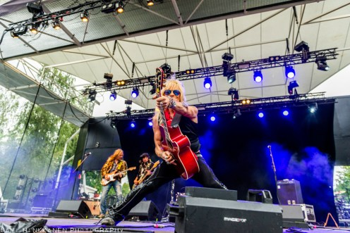 Michael Monroe, Sami Yaffa & Costello - Rock In The City Pori - 2020