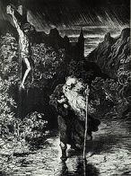 Gustave Dorés version af Jerusalems Skomager, Den Evige Jøde.