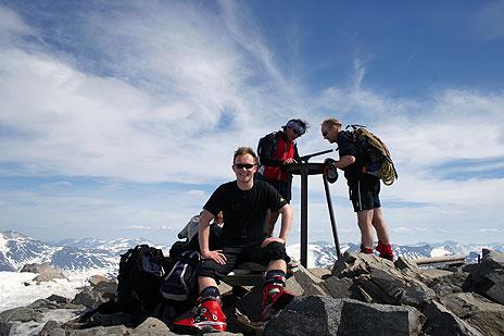 På toppen av Norge