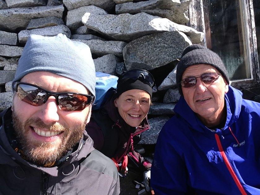 Helge Kaasin, Marianne Wahlstrøm og Geir Wahlstrøm.