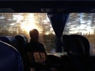 På bussen til Jokkmokk.