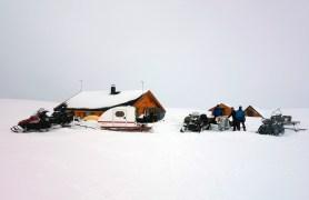 Gaup-hytta. Foto: Edmund J. Grønmo.