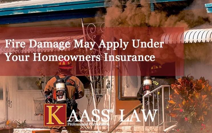 Santa Clarita Fire Homeowners Smoke and Ash Insurance