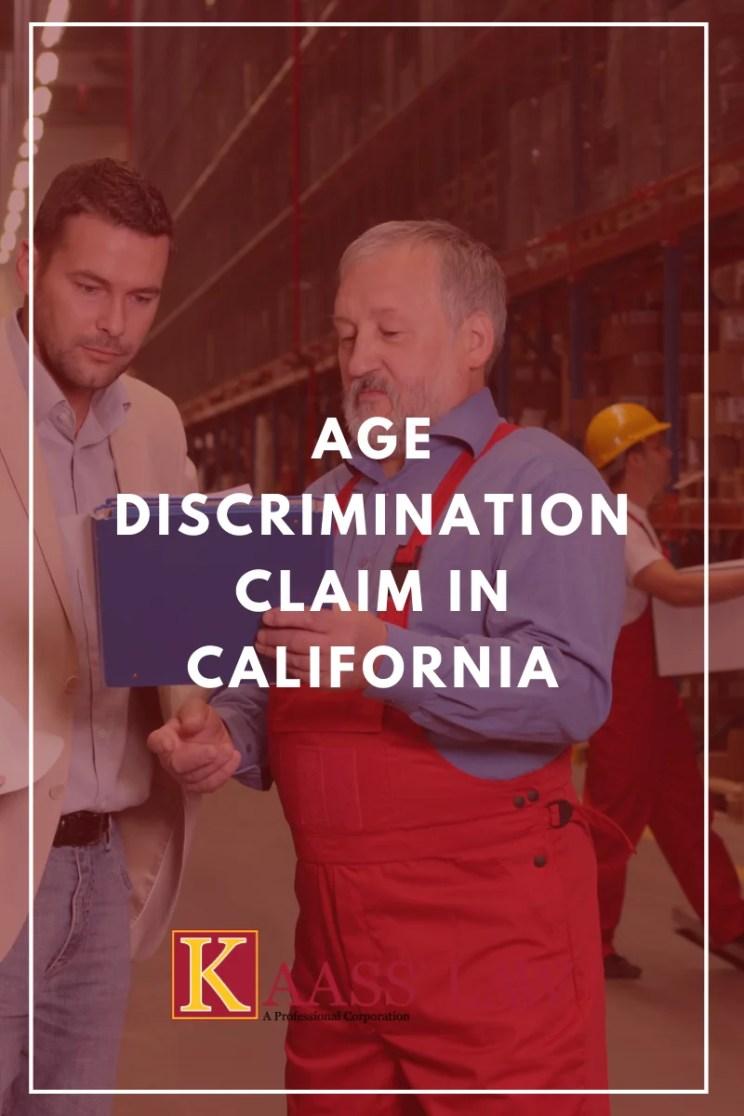 Age Discrimination Claim in California
