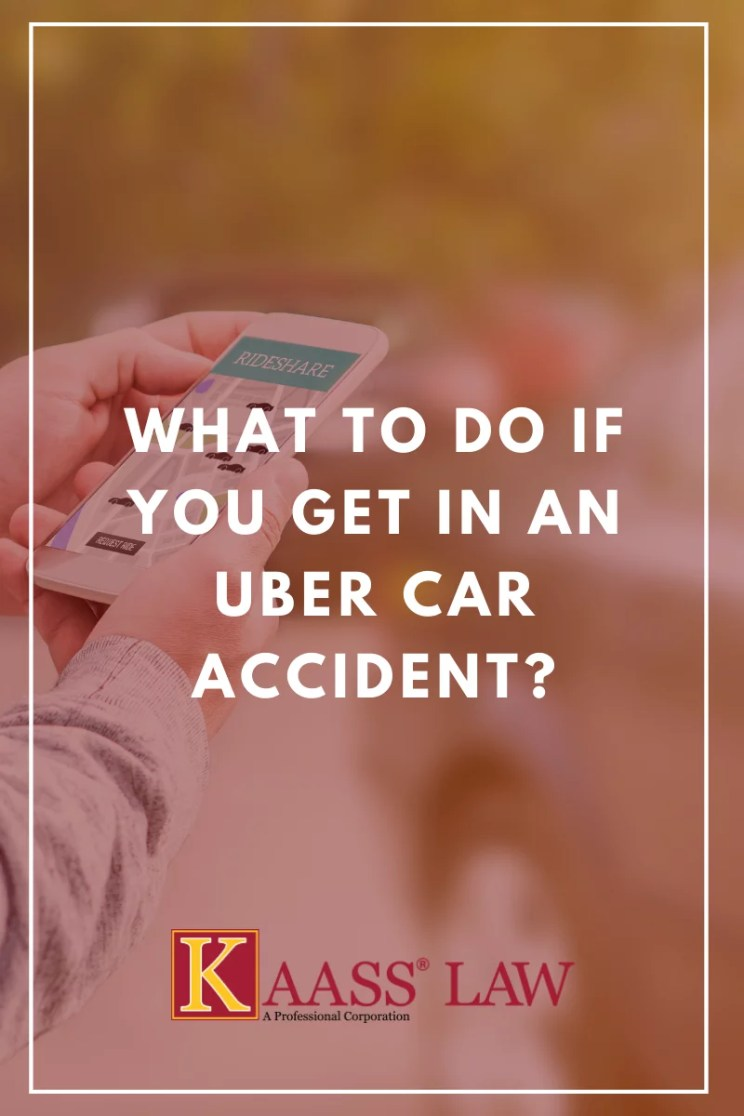 What to Do If You Get in an Uber Car Accident?