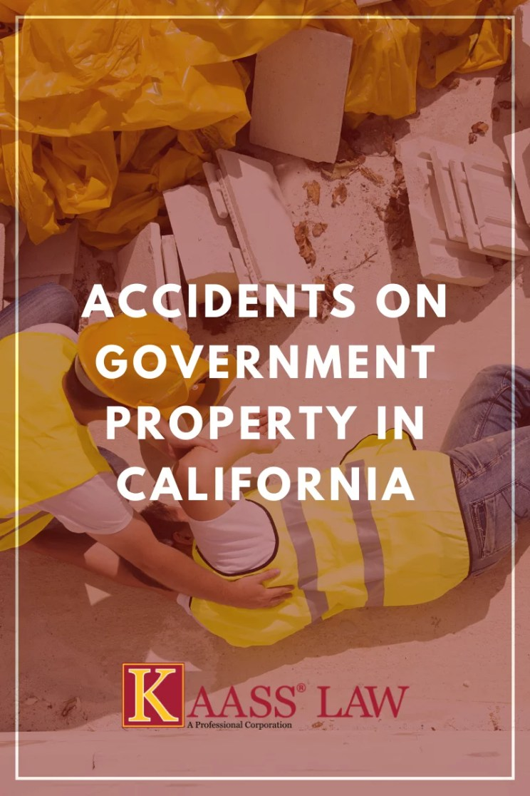 Accidents on Government Property in California